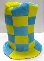 Шляпа-цилиндр фаната футбола, товары для болельщиков оптом и в розницу, распродажа склада