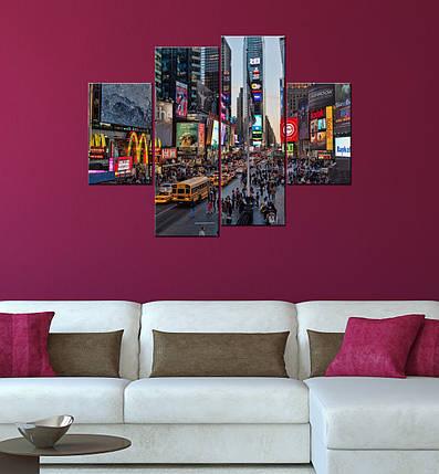 "Модульная картина ""Times Square new york"", фото 2"