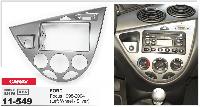 Рамка переходная Carav 11-549 Ford Focus 98-04 (Left Wheel / Silver) 2DIN
