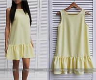 Красивое платье юбка рюша, расцветки HQ-06.012
