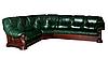 """Кожаный угловой диван """"Гризли"""" Курьер, фото 3"""