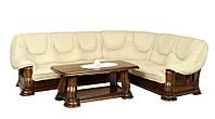 Кожаный диван Гризли, раскладной диван, мягкий диван, мебель из кожи, диван
