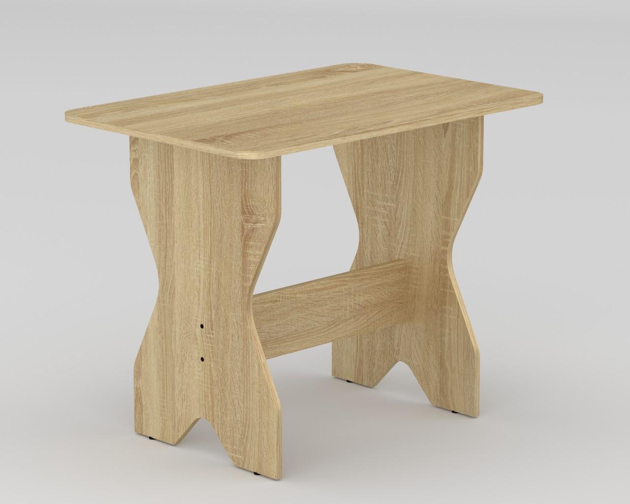 Стол кухонный простой КС-1  716х598х900