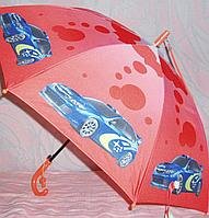 Зонт детский  с машинами