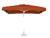 Зонт прямоугольный 2x3м, с клапаном для торговли, отдыха на природе (4 метал. спицы, цвета в асс.) DJV /N-82