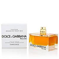 Dolce&Gabbana The One парфюмированная вода ТЕСТЕР 75 ml
