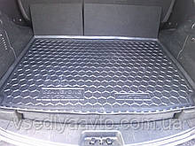 Коврик в багажник SSANG YONG Kyron с органайзером (AVTO-GUMM) полиуретан