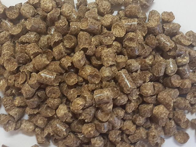 Пеллета (гранула) из сосны А2, фасовка биг-бэг 1000 кг, 8 мм.