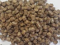 Пеллета (гранула) из сосны А2, фасовка 15 кг, 8 мм.