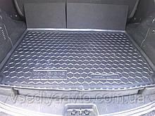 Коврик в багажник SSANG YONG Kyron с органайзером (AVTO-GUMM) пластик+резина