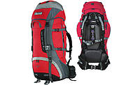 Рюкзак Terra турист VERTEX 80 красный серый