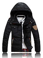 Мужская куртка-аляска на пуху Черный