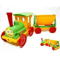 Конструктор-поезд с  прицепом