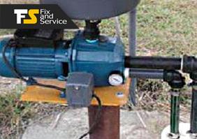 Монтаж и установка центробежных поверхностных насосов