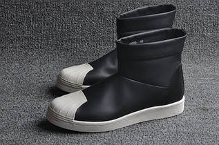Кроссовки мужские Adidas Superstar Ankle Boot x Rick Owens / ADM-1161 (Реплика)