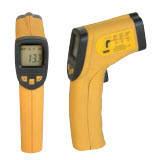 Инфракрасный термометр с лазерным указателем, диапазон измерений -32°С /+380°С