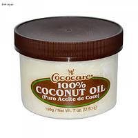 Кокосовое масло первого отжима  198 гр  Cococare, 100%