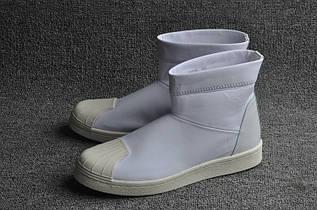 Кроссовки мужские Adidas Superstar Ankle Boot x Rick Owens / ADM-1162 (Реплика)