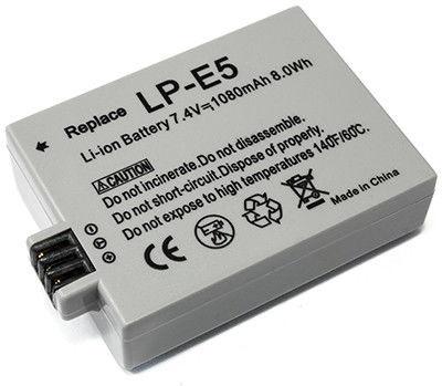 Аккумулятор CANON  LP-E5 7,4V 1080mAh