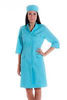 Халаты и колпаки медицинские, женские, модельные, пошив под заказ от 10 комплектов