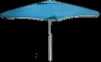 Зонт квадратный (2x2 м) без клапана для торговли, отдыха на природе (4 метал. спицы, цвета в асс.) DJV /N-81