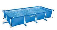 Каркасный прямоугольный бассейн Rectangular Frame Pool Intex  450*220*84 см.