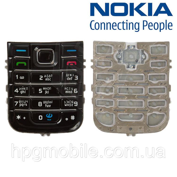 Клавиатура для Nokia 6233, оригинал (черная)