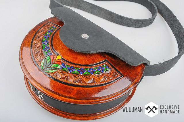 Деревянные сумки