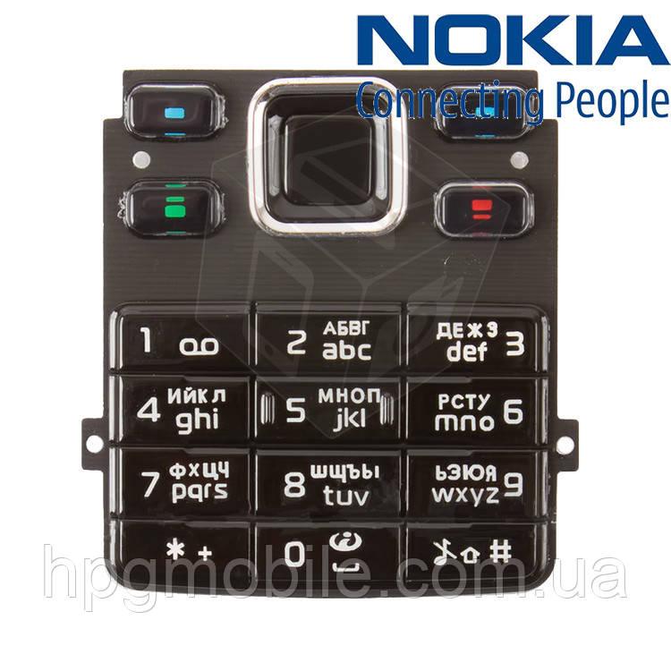 Клавиатура для Nokia 6300, черная