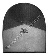 Набойка резиновая мужская GTO Italia оригинал (Китай), т. 6.6 мм, р.13-14, цв. черный