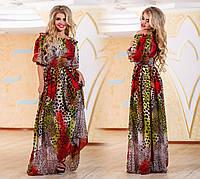Платье летнее макси Шифон № ат 655.1 гл