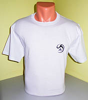 Мужская футболка  хлопок L