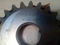 Долбяк дисковый М 4,5  z22 20 град.  P18 дел. диаметр 100, фото 1