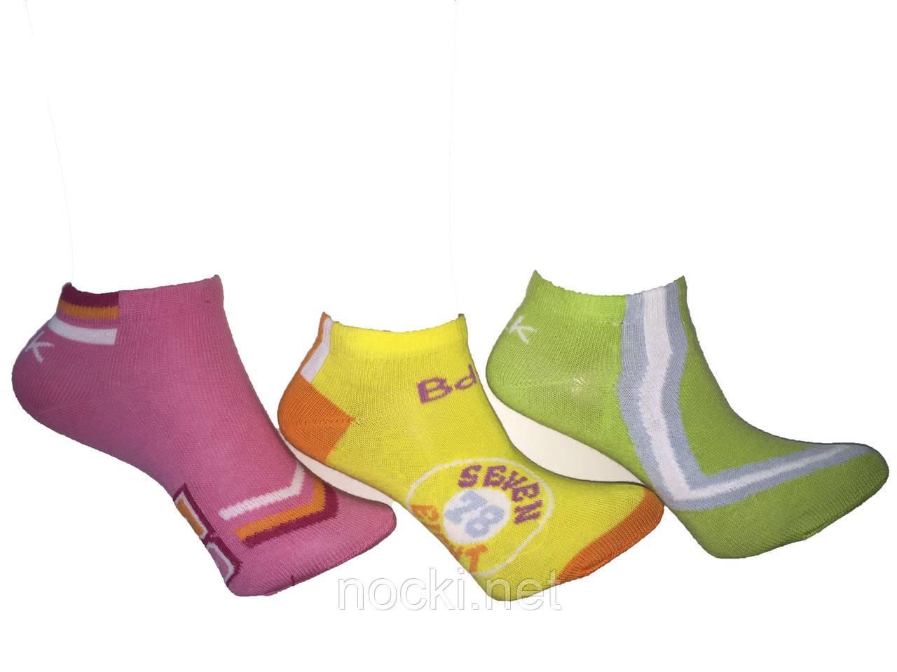 Шкарпетки дитячі короткі пр-під Туреччина р. 9