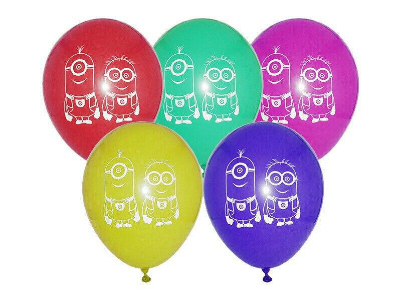 """Воздушный шар """"Миньоны"""" 30 см диаметр"""