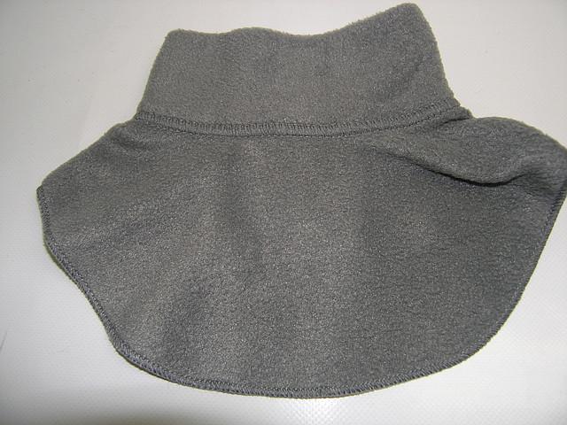 Шарфик - горлышко серый
