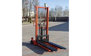 Штабелер Leistunglift H1516 (1500кг/1.6м), с раздвижными вилами, фото 2