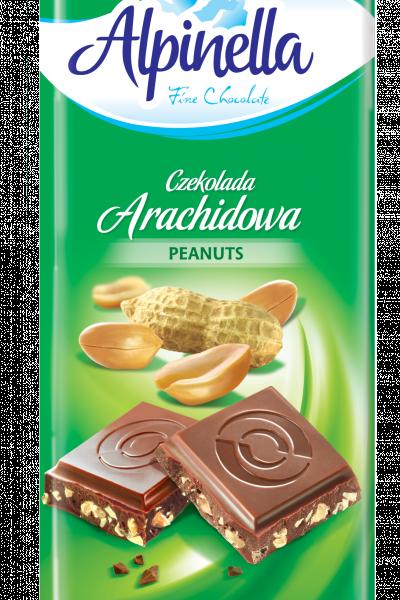 Шоколад Alpinella (молочный с арахисом), Польша 100 г