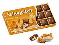 Шоколад Schogetten Almond Brittle (Шогеттен с миндальной начинкой), 100г, Германия