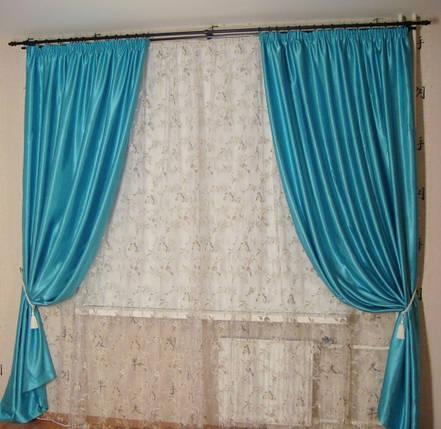 Шторы портьерные Шанзелизе Тиффани (2 шторы), фото 2