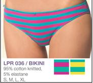 Трусы женские хлопковые бикини Key LPR 036 A5  (Кей), Польша