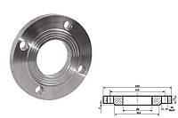 Фланец плоский стальной Ду 50 мм Ру 10 атм