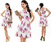 Платье женское Розовые ирисы