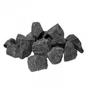 Камни для бани - Базальт черный колотый (мешок 20 кг), фото 2