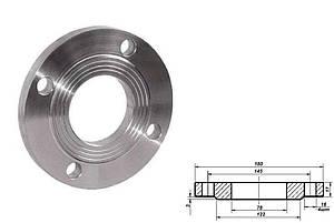 Фланец плоский стальной Ду 65 мм Ру 10 атм