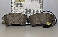 Тормозные колодки передние датчиком на Renault Kangoo II 2008-> — Renault - 410605649R