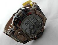 Водонепроницаемые часы Q@Q  khaki 10Bar спортивные, можно плавать, m144j005y