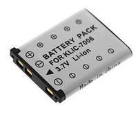 Аккумулятор  KODAK KLIC-7006H 3,7V 750mAh