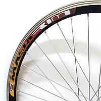 """Велосипедное колесо Mayarim, двойной обод, 24"""" ,26"""" ,стальная втулка, V-brake, заднее"""