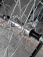 """Велосипедное колесо Mayarim, двойной обод, 24"""", 26"""", алюминиевая втулка, V-brake, заднее"""